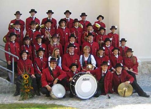 Hüte für die Blasmusikkapelle Bockfliess