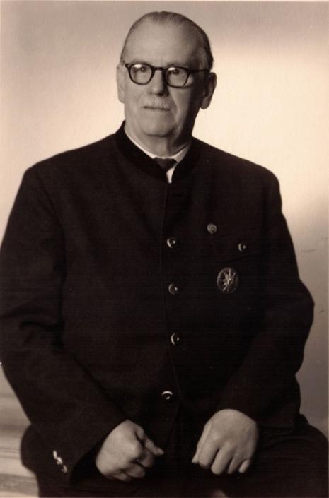 Hutmacher August Frech Junior