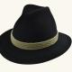 Trachtenhut schwarz mit Kordel - 143 017 84 14