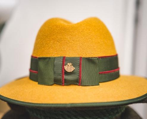 Damen Trachtenhut gelb