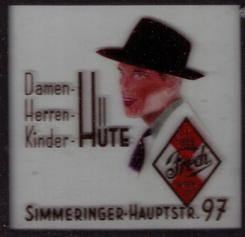 Hut Kinowerbung 1954   1964 (2)