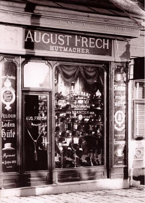 Gründungslokal Von Hutmacher August Frech In Wien