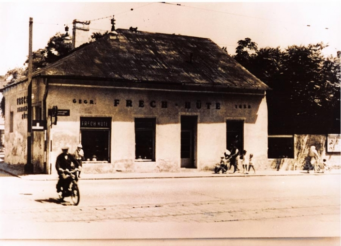 Hutgeschäft Frech In Wien Nach 1945