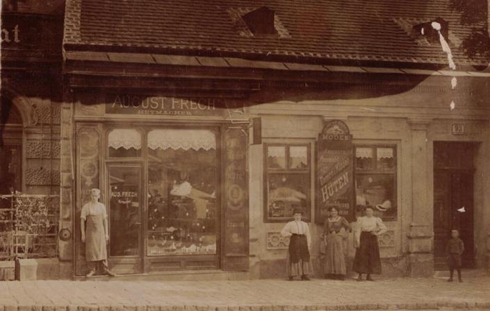 Hutgeschäft August Frech In Wien Vor 1900