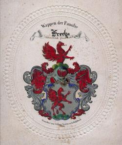 Wappen Hutmacher Frech