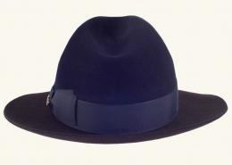 Herrenhut braun-blau 180-042-02-03