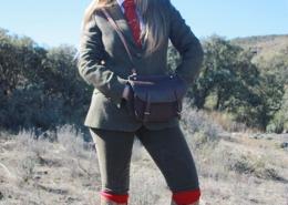 Perfekt gestylt für die Jagd in Spanien - mit Frech Hut aus Wien